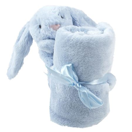 Picture of Bashful Blue Bunny Soother