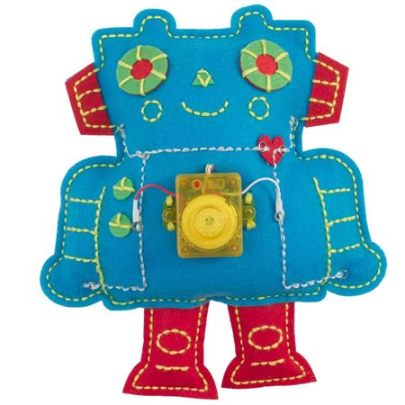 Picture of Stitch a Circuit Robot