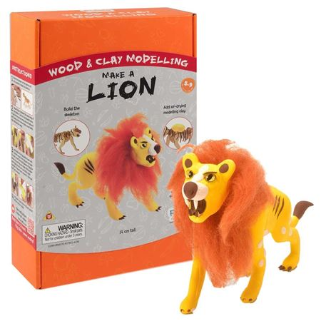 Picture of Wood & Clay Kit - Lion