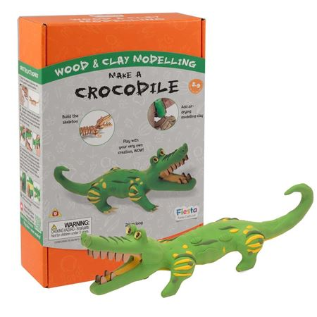 Picture of Wood & Clay Kit - Crocodile