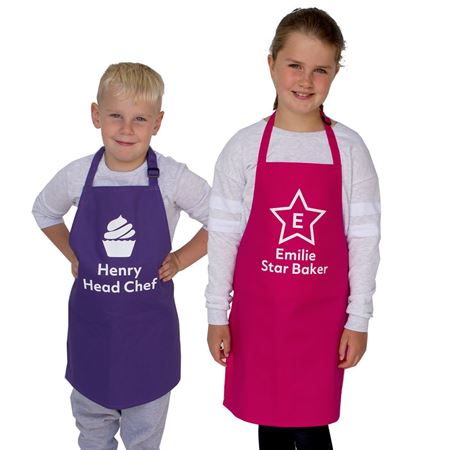 Picture of Personalised Apron - Age 7-10
