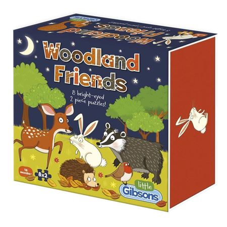 Picture of Woodland Friends Jigsaw Puzzles