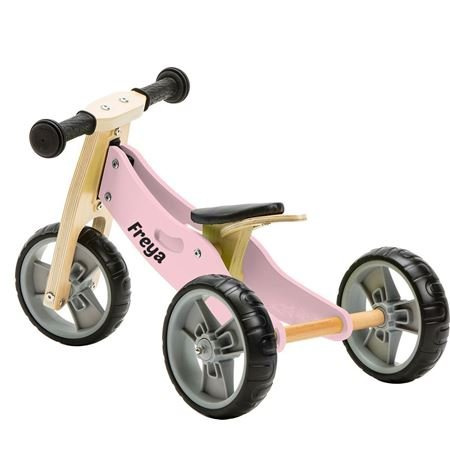 Picture of 2 in 1 Bike - Pastel Pink (Tricycle/Balance Bike)