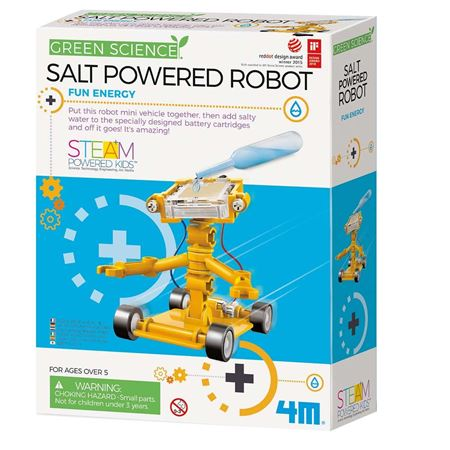 Picture of Salt Powered Robot