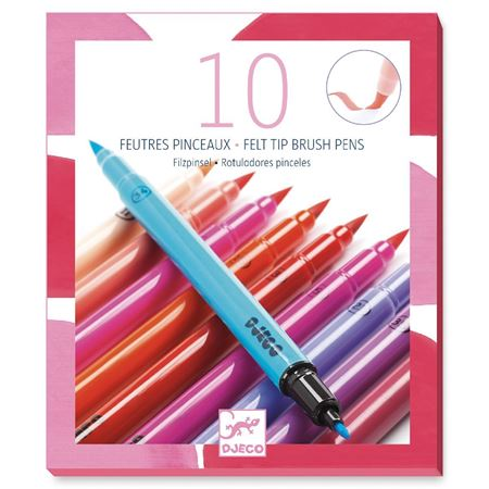 Picture of Felt Tip Brushes Pink