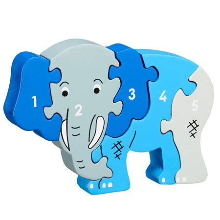 Picture of Elephant 1-5 jigsaw