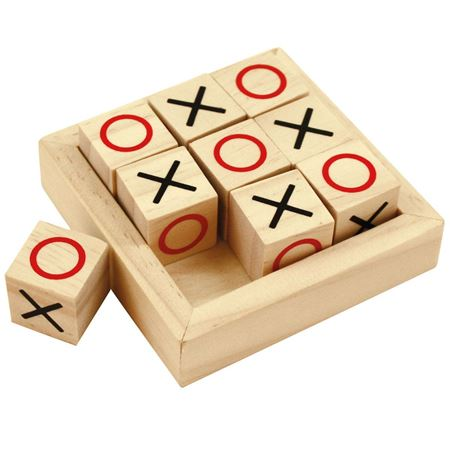 Picture of Wooden Noughts and Crosses