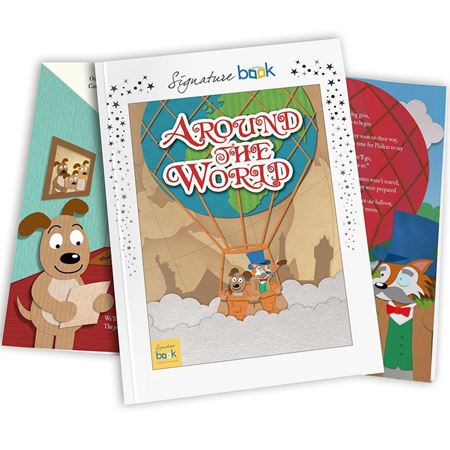 Picture of Around the World Personalised Book