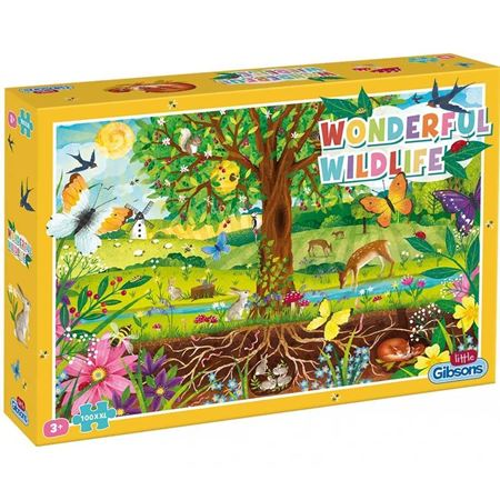 Picture of Wonderful Wildlife 100pc Puzzle